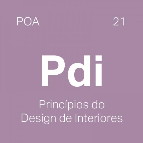 Curso Princípios do Design de Interiores em Porto Alegre - 4ED escola de design
