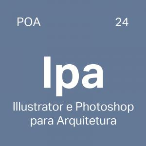 Curso Illustrator e Photoshop para Arquitetura particular em Porto Alegre - 4ED escola de design