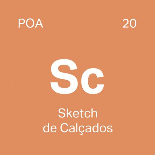 Curso Sketch de Calçados particular em Porto Alegre - 4ED escola de design