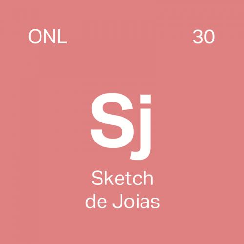 Curso Sketch de Joias Online - 4ED escola de design