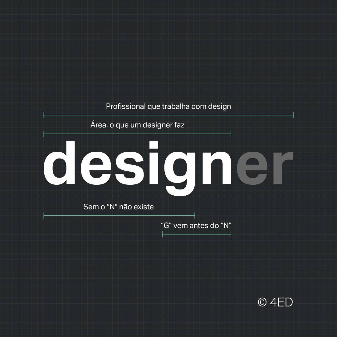 Design ou designer? Qual a diferença
