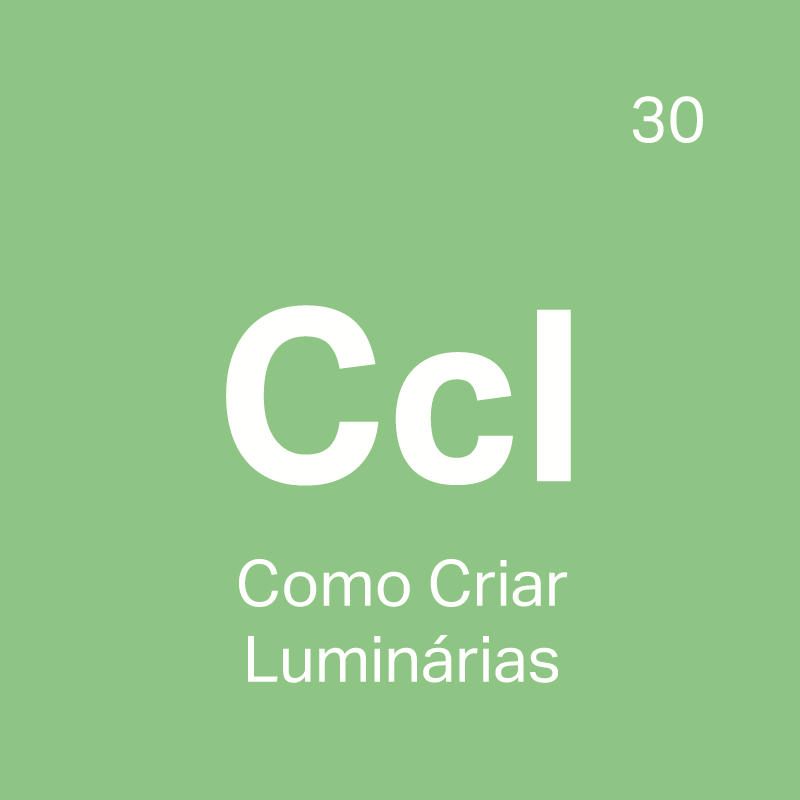 CCL Curso Como Criar Luminárias - 4ED escola de design
