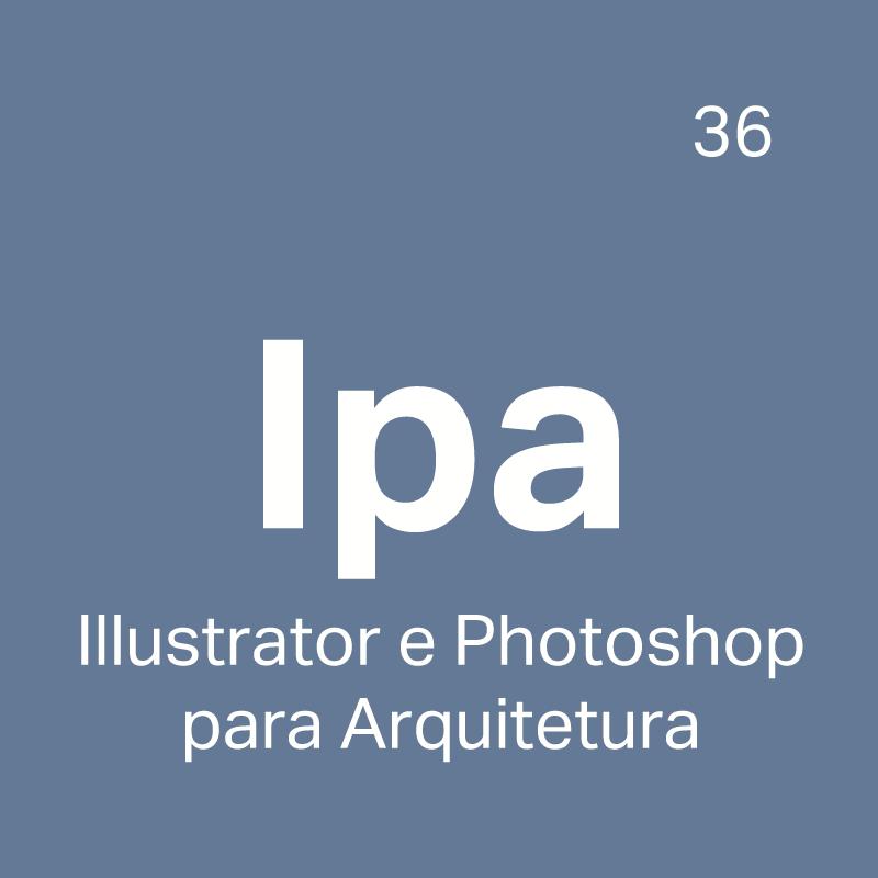 IPA - Curso Illustrator e Photoshop para Arquitetura - 4ED escola de design