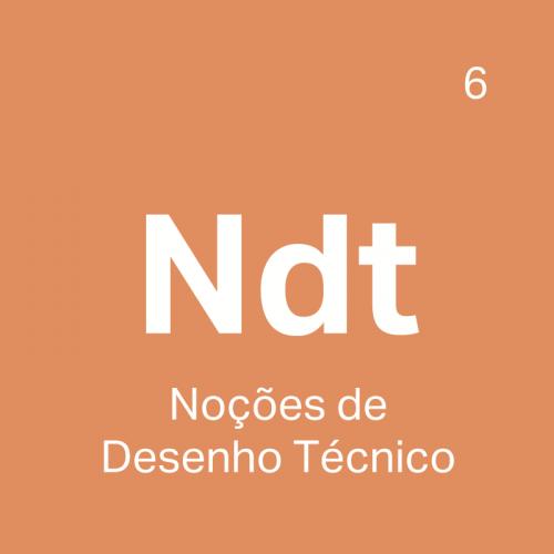 NDT Curso Noções de Desenho Técnico - 4ED escola de design