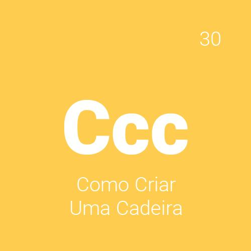 O curso Como Criar uma Cadeira 30h aborda métodos de fabricação, materiais, princípios e classificações das cadeiras, etapas para criação e desenvolvimento do projeto de uma cadeira desde a concepção, geração de alternativas, modelagem 3D e mockup.
