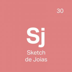 Curso Sketch de Joias - 4ED escola de design