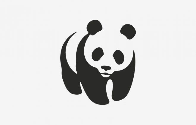 Gestalt logotipo WWF